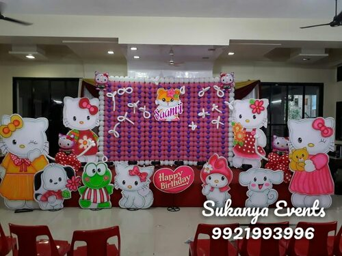 hello kitty Themes Birthday Party Decoration