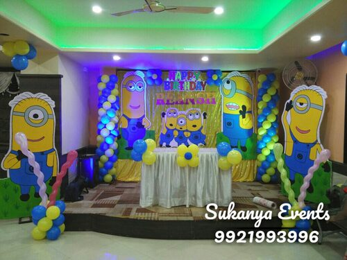 minion themes Birthday party Decorations in Pune City