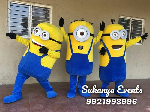 minion mascot birthday party