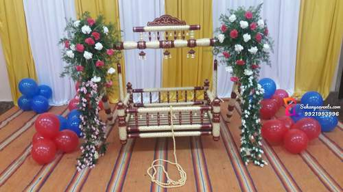 Naming Ceremony Decoration Cradle Decoration Baby Shower Naming
