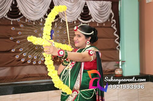 Dohale Jevan Dhanushaban | Baby Shower Arrow With Bow
