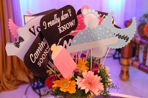 Baby Shower Props Decorations Ideas Baby Shower Naming Ceremony