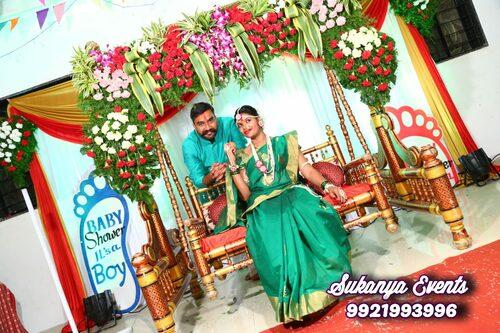 dohale jevan decoration  baby shower  godh bharai pune