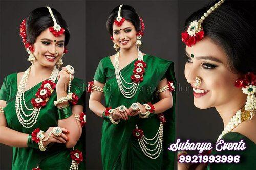 Flower Jewellery For Dohale Jevan Baby Shower Haldi Mehendi Sukanya Events