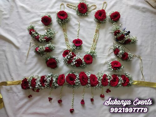 Flower Jewellery For Dohale Jevan And Baby Shower