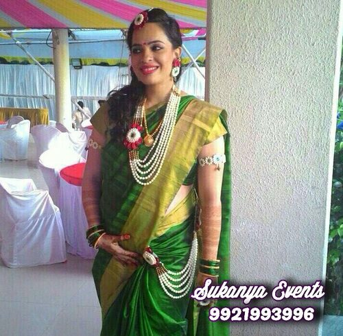 Real Flower Jewellery For Dohale Jevan