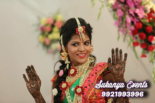 Real Flower Jewellery For Bride For Wedding