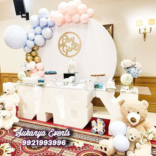 Baby Shower Decoration At Home