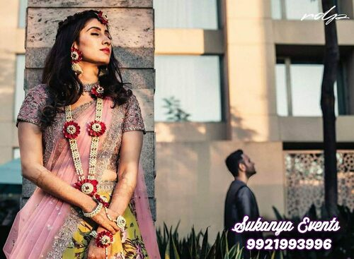 Floral Jewellery For Haldi