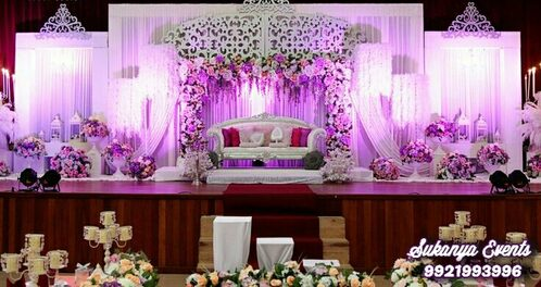wedding stage decorations in pune